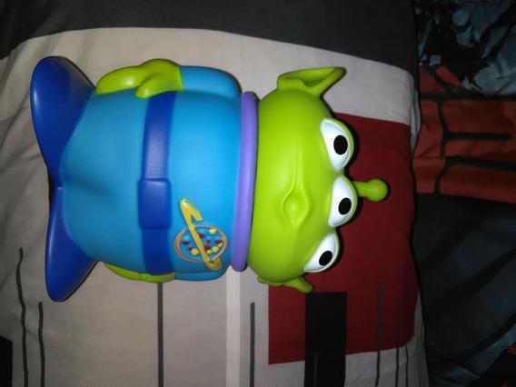 Palomera Y Vaso Toy Story Marcianitos
