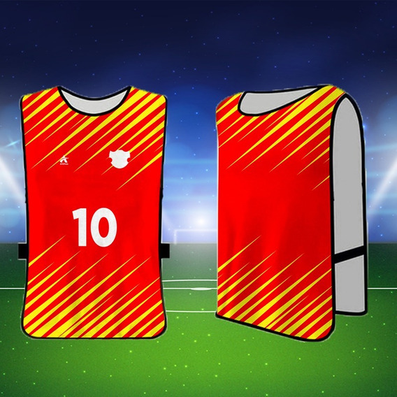 Colete Futebol Personalizado Esportivo Jogo Futebol 20 Und