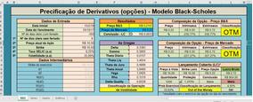 Planilha, Bolsa De Valores, Opções - Mercado Financeiro