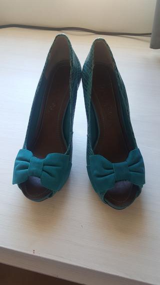 Sapato Verde Ramarim Tam 37