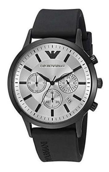 Relógio Emporio Armani Ar11048/8kn Promoção Dia Dos Pais