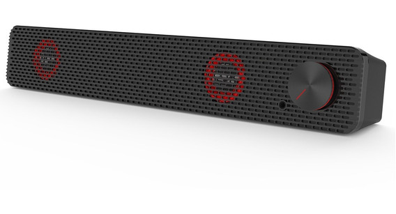 Smalody Soundbar Computador Speaker 3.5mm Wired Sound Bar Us