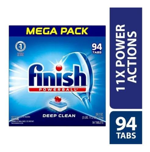 Finish Powerball 94 Deep Clean Tab - Unidad a $1414