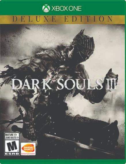 Dark Souls 3 Deluxe Edition Xbox One Mídia Digital + Brinde