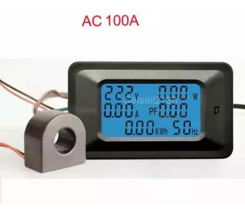 Multimetro Amperimetro Voltimetro Face Frecuencia Vatimetro