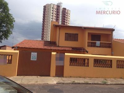 Casa Residencial Para Locação, Jardim Panorama, Bauru. - Ca1553