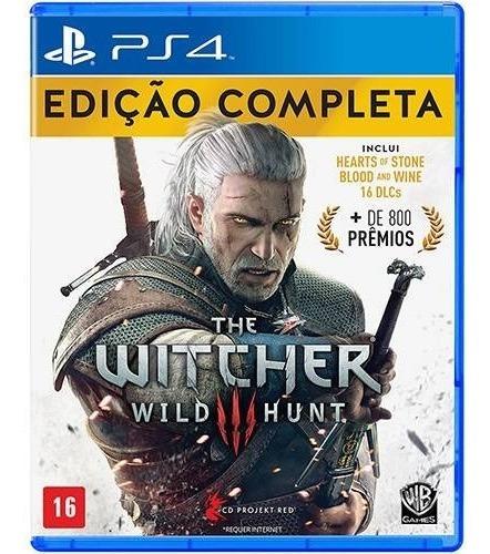 The Witcher 3 Iii Edição Completa Ps4 Português Mídia Física