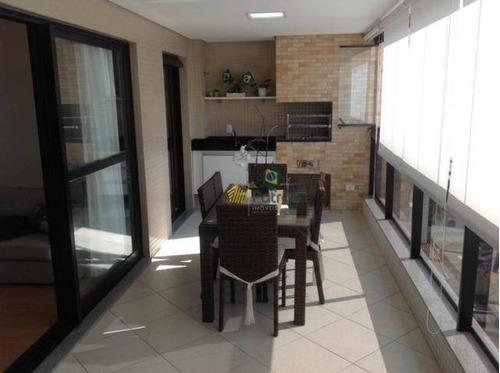 Apartamento À Venda, 177 M² Por R$ 1.480.000,00 - Vila Dayse - São Bernardo Do Campo/sp - Ap2756