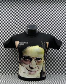 Camiseta Manga Corta Hombre Hector Lavoe Salsa