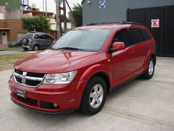 Dodge Journey 2.4 Sxt Atx Gnc Año 2011 Impecable!!