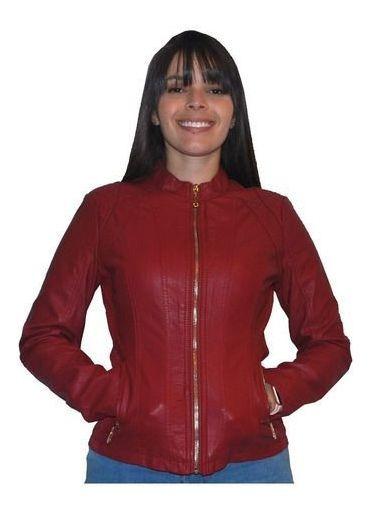 Jaqueta Femina Eco Couro