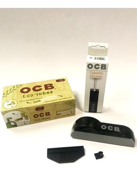 Maquinas Relleno Y Tubos Eco100 P/tabaco Ocb-local Candyclub