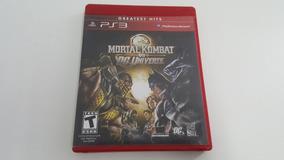 Mortal Kombat Vs Dc Universe - Ps3 - Original - Mídia Física