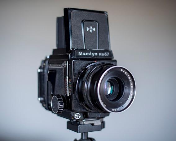 Mamiya Rb67 Pros - Lente Sekor C 90mm F3.8