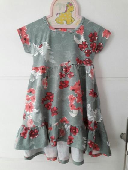 Vestido Mullet Floral Infantil Puc