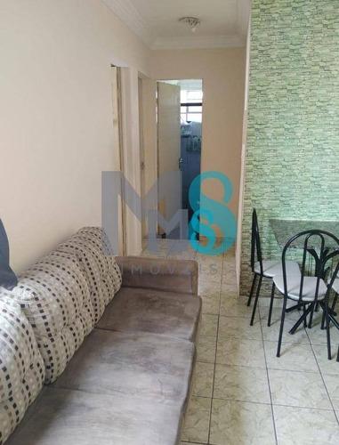 Imagem 1 de 12 de Apartamento Com 2 Dormitórios À Venda, 48 M² Por R$ 170.000,00 - Vila Santana - Mogi Das Cruzes/sp - Ap0177