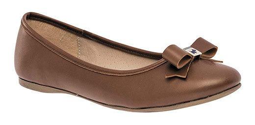 Zapato Flats Dama Pk 71355 Ferrioni Camel