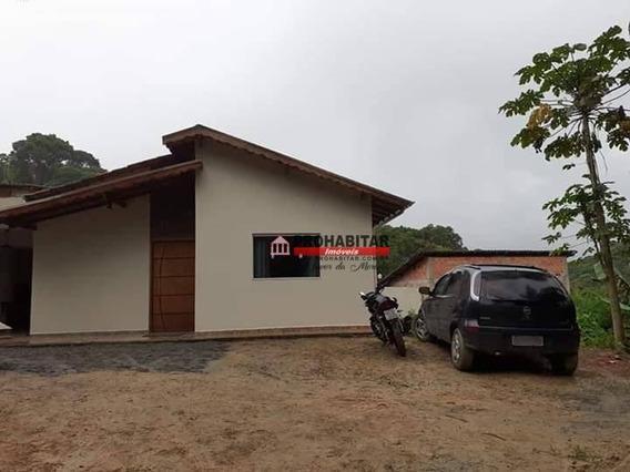 Vendo Ótima Casa Em Juquitiba Bairro Sitio Da Fazendinha Com 2 Quartos, Sala, Cozinha, Banheiro, Com 2 Vagas De Garagens, Quintal Churrasqueira - Ca3187