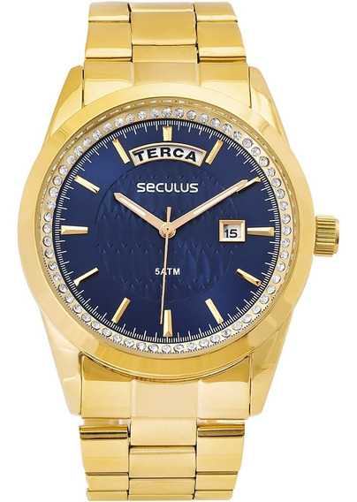 Relógio Masculino Seculus 28839lpsvds5