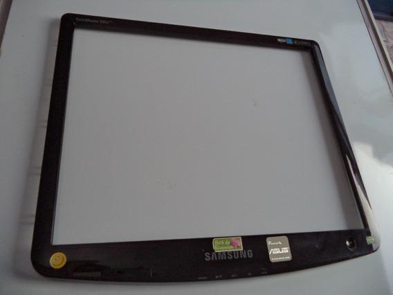 Moldura Externa Com Botão Power Monitor Samsung 732n Plus
