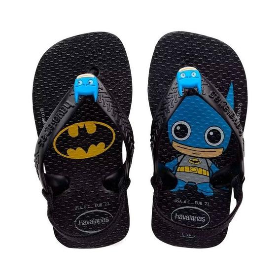 Chinelo Havaianas Infantil Batman