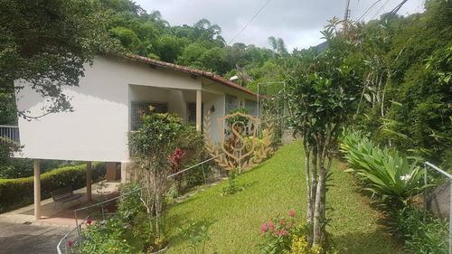 Casa Com 6 Dormitórios À Venda, 260 M² Por R$ 540.000,00 - Parque Do Imbui - Teresópolis/rj - Ca0341