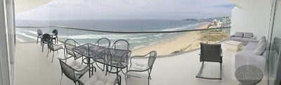 Cad Península Tower F21 Terraza Con Vista Al Mar. Elevador Privado