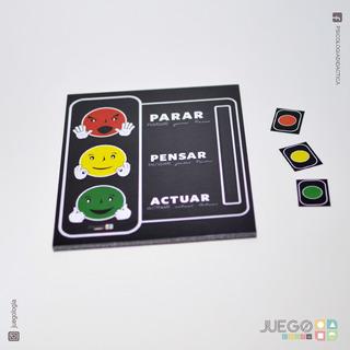 Psicología Infantil :: Semáforo Del Enojo :: Tea :: Psi