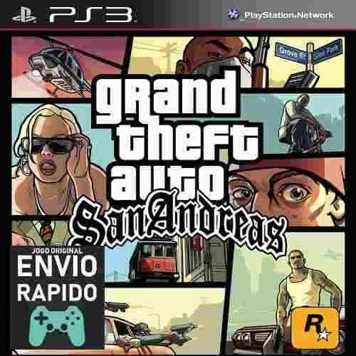 Grand Theft Auto San Andreas Gta Em Hd Jogos Ps3