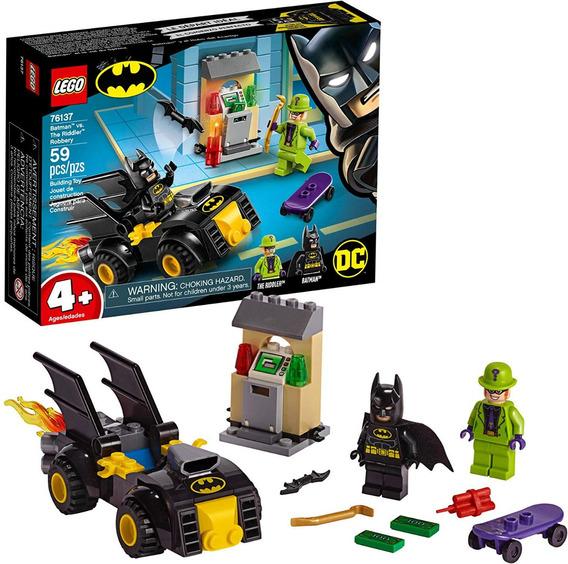 Lego Dc Batman: Batman Vs The Riddler Robbery 76137 - 59 Pza