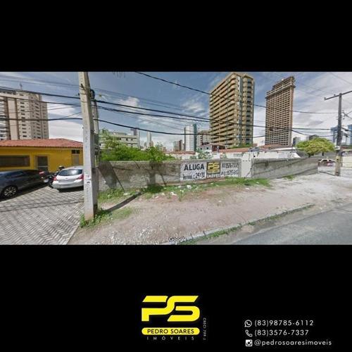 Terreno À Venda, 720 M² Por R$ 2.800.000 - Manaíra - João Pessoa/pb - Te0247
