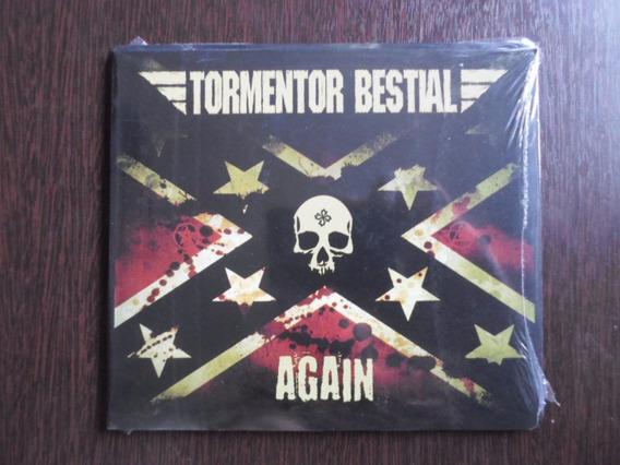 Cd Tormentor Bestial - Again