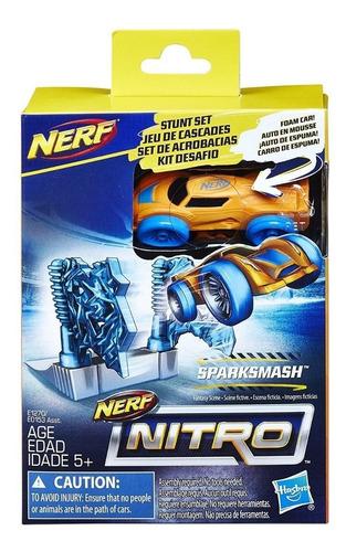 Nerf Nitro Set De Acrobacias Sparksmash Envio Full (6167)