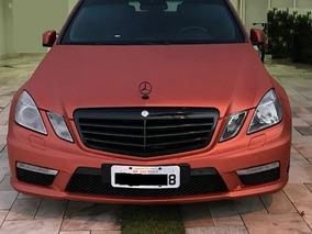 Mercedes Benz E 63 Amg Blindado Bss Envelopado Cobre Metalic