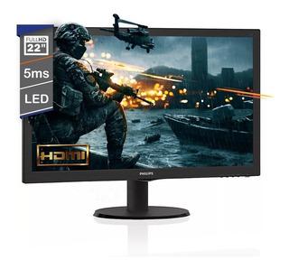 Monitor Led Gamer 22 Philips Pulgadas Hdmi Full Hd 1920x1080