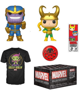 Marvel 80th Anniversary Collector Corps Funko Pop! Box