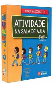 Coleção Atividade Na Sala De Aula 5º Ano Editora Rideel