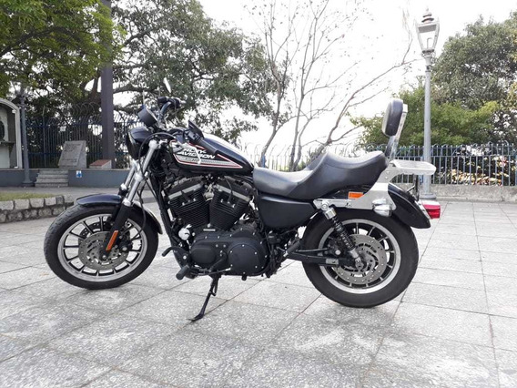 Harley Davidson Sportster Xl 883r 2009 Preta