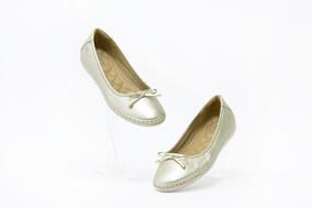 Zapatos Bonitos Dama Flexi 29103 Oro 100% Originales!!