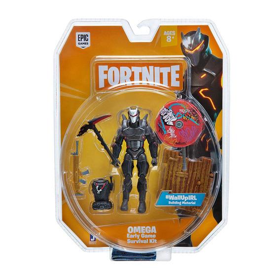 Figura De Açao Fortnite Omega Com Acessorios Sunny 2058