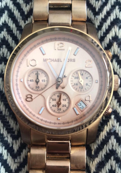 Relógio Michael Kors Rosê Grande
