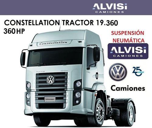 Volkswagen Constellation 360 Tractor Automatic Susp Neum Hoy