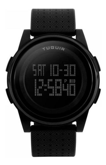 Relógio Unissex Tuguir Digital 1206 Preto