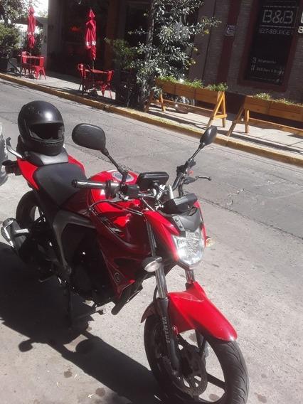 Vendo Yamaha Fz Version Fi Modelo 2015 Titular