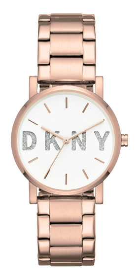 Reloj Dama Dkny Ny2654 Color Oro Rosado De Acero