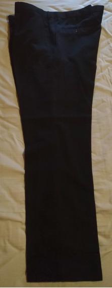 Pantalón De Vestir Marca Bluni - Polyester/ Viscosa Talle 58