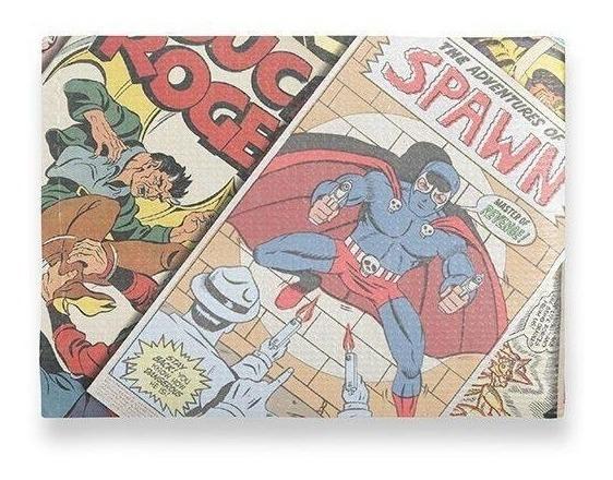 Carteira Fina - Heróis Comics