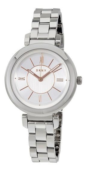 Reloj Dkny Stainless Steel Silver Ellington