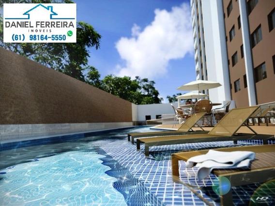 Apartamento 1 Quarto - 1 Vaga De Garagem - Via Brisa - Ap00026 - 4904345