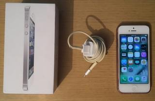 Vendo iPhone 5g Blanco De 16 Gb Original 60 Verdes